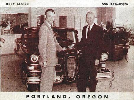 Advertising photo for two Portland, OR dealers