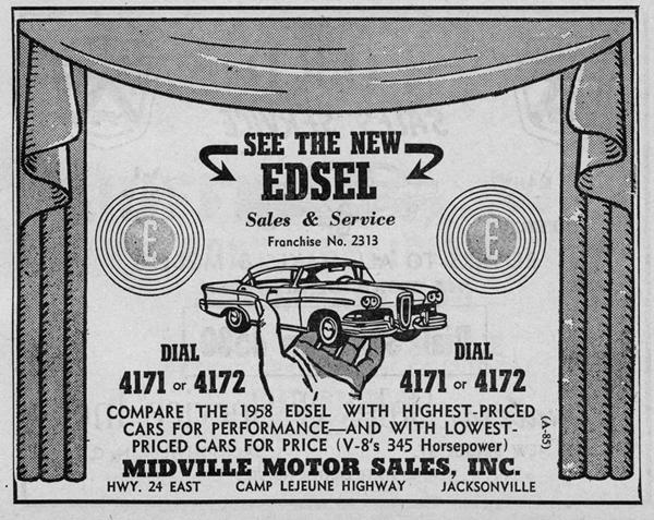 ... Blvd. Jacksonville Gardner-Graves Motor Company 605 North Heritage Street Kinston Hardesty Motors 1302 Arendell Street Morehead City Rawls Motor Company ...