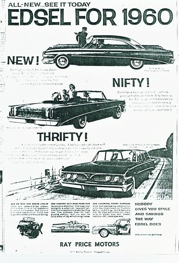 ... 101 Pinney Street Rochester Bradley Lincoln Mercury Scranton Nappi Motor Company 527-529 Broad Streets Sewickley Lynady Motors 404 Main Street Simpson ...