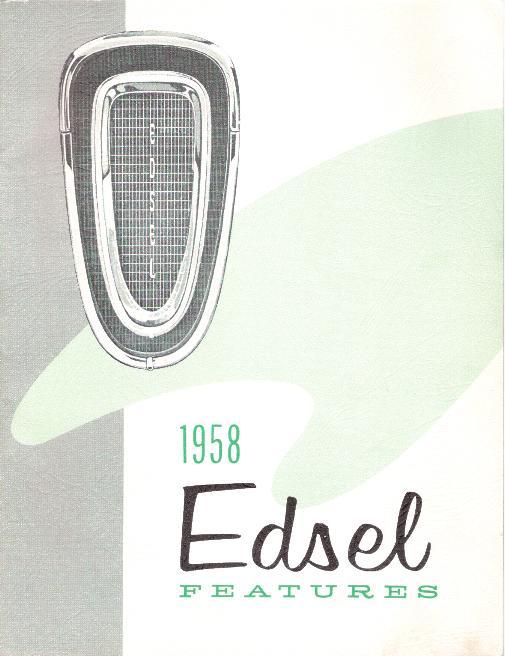 edsel historical documents rh edsel net 1959 edsel owners manual Cartoon Manual