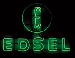 Edsel dealer sign